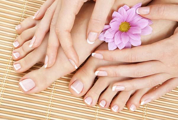belleza de manos y  pies